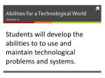 abilities for a technological world1