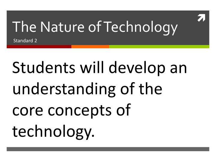 The nature of technology1