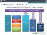 a pilot project of edison cfd1