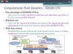 computational fluid dynamics edison cfd2