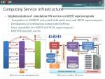 computing service infrastructure