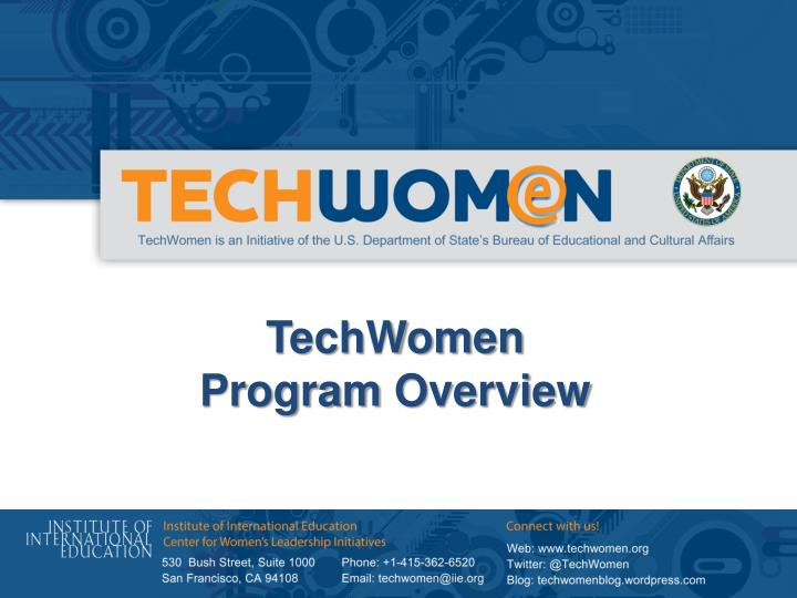 TechWomen
