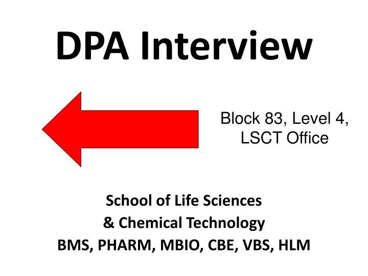 DPA Interview