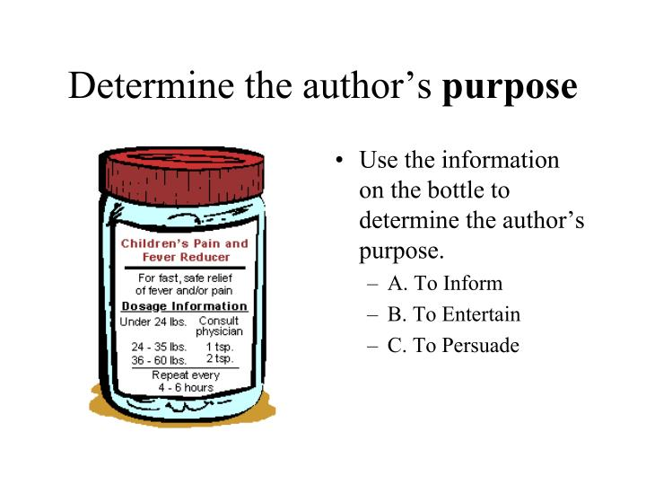Determine the author's