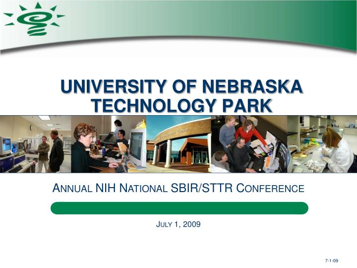 University of nebraska technology park