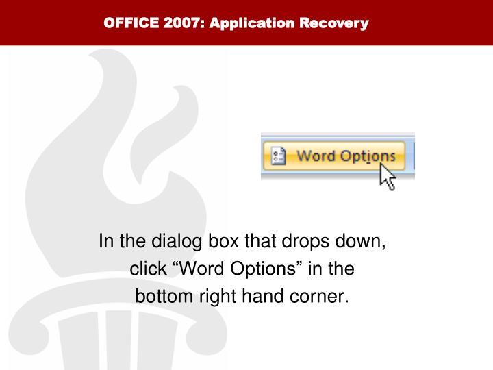 OFFICE 2007: