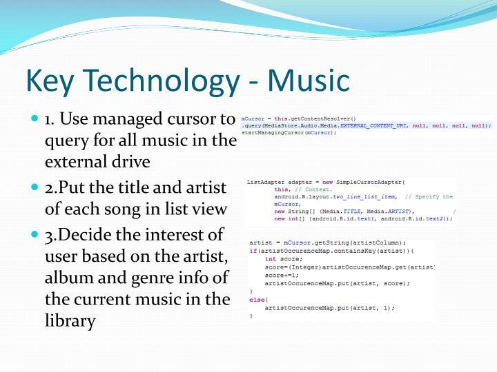 Key Technology - Music