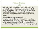 waste offences1