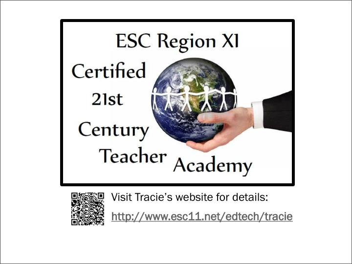 Visit Tracie's website for details: