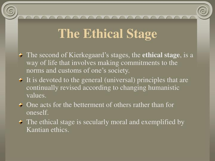 The Ethical Stage