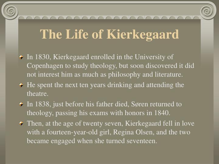 The Life of Kierkegaard