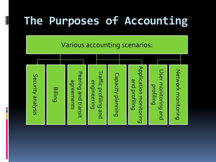 The Purposes of Accounting