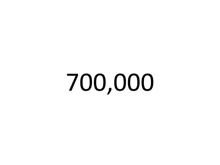 700,000