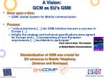 a vision gcm as eu s gsm