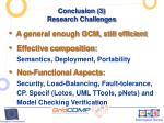 conclusion 3 research challenges
