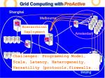 grid computing with proactive