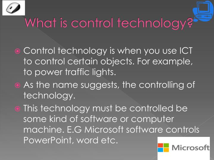 What is control technology