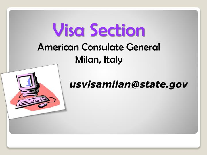 Visa Section