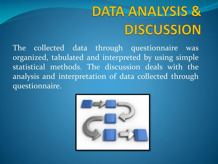 DATA ANALYSIS & DISCUSSION