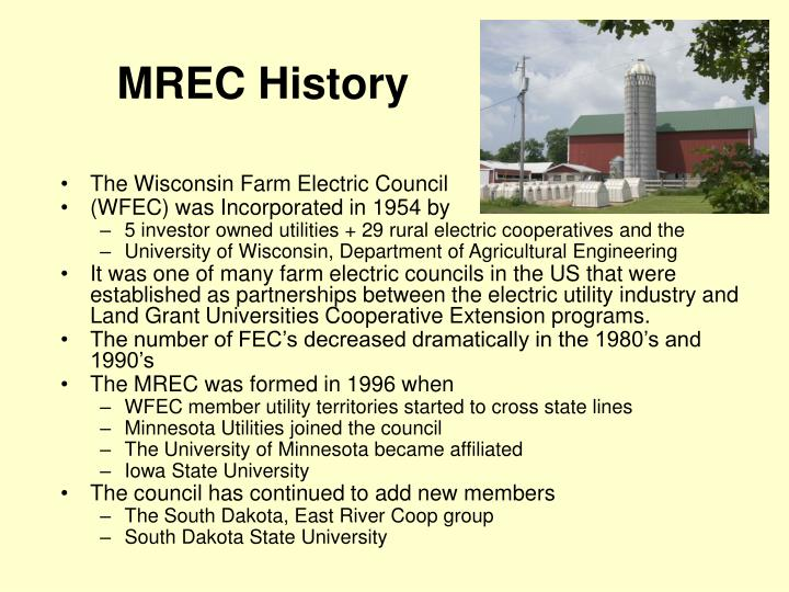 MREC History