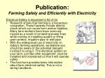 publication farming safely and efficiently with electricity