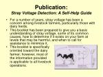 publication stray voltage detection a self help guide