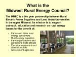 what is the midwest rural energy council