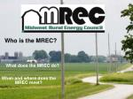 when and where does the mrec meet