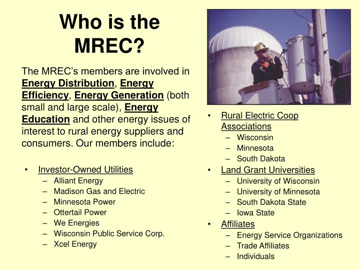 Who is the MREC?