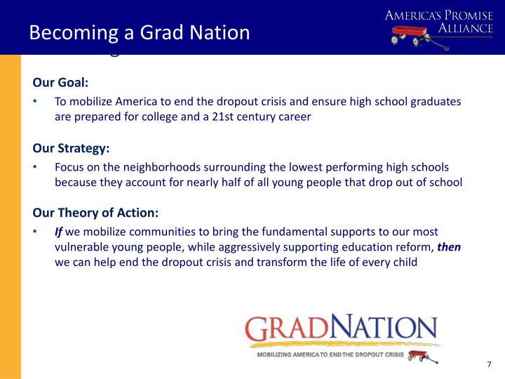 Becoming a Grad Nation