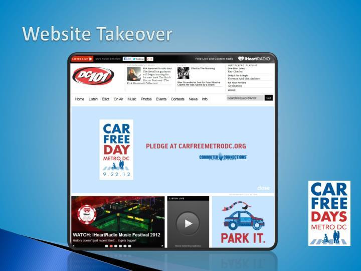 Website Takeover