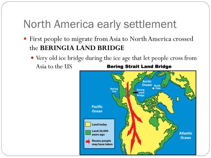 North America early settlement