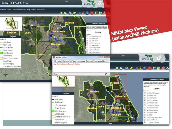 SISIM Map Viewer