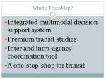 what s transmap