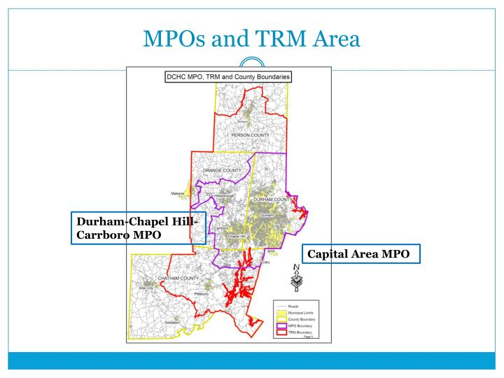 MPOs and TRM Area