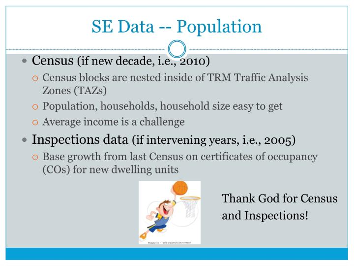 SE Data -- Population