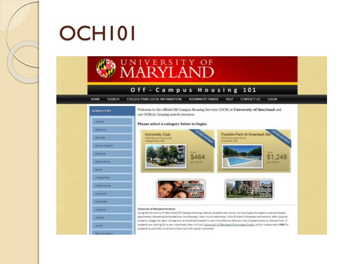 OCH101