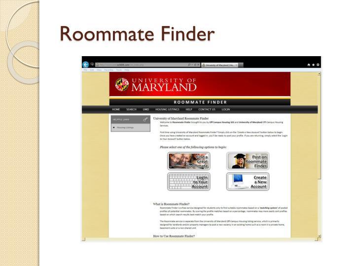 Roommate Finder