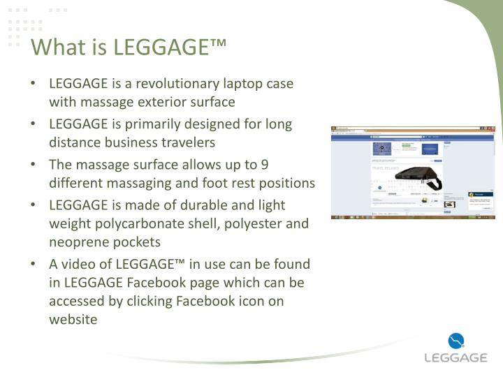What is leggage