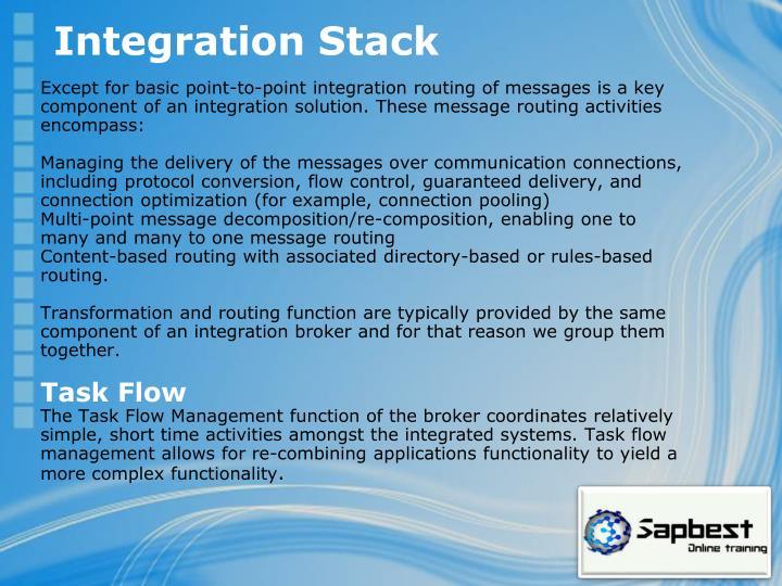Integration Stack