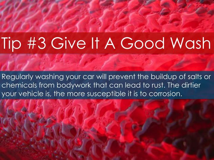 Tip #3 Give It