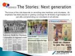 the stories next generation