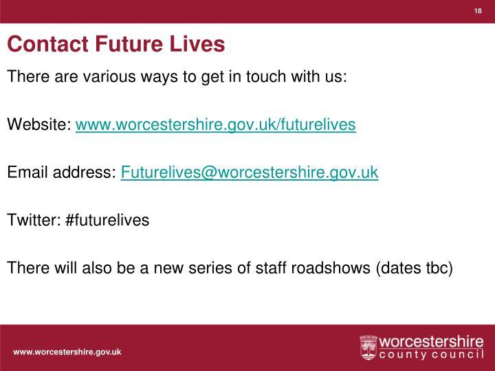 Contact Future Lives