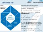 seven top tips