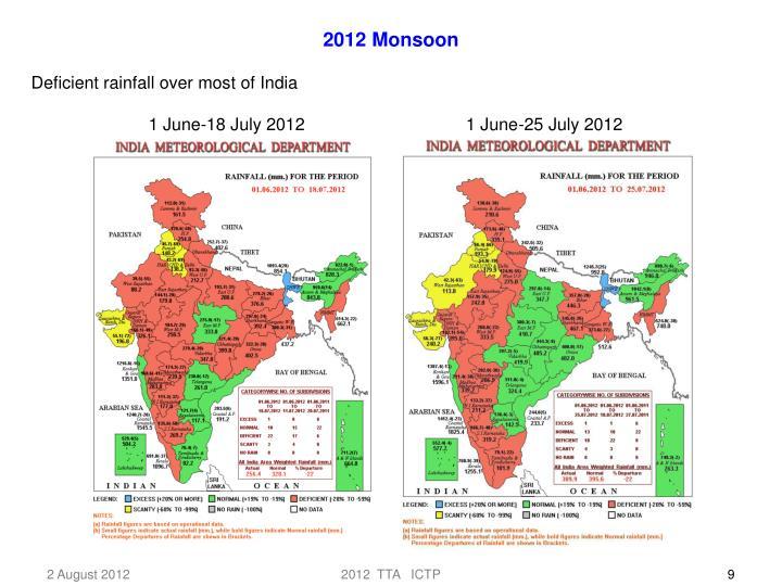 2012 Monsoon