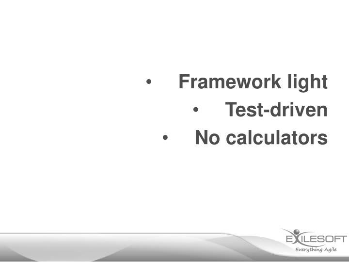 Framework light