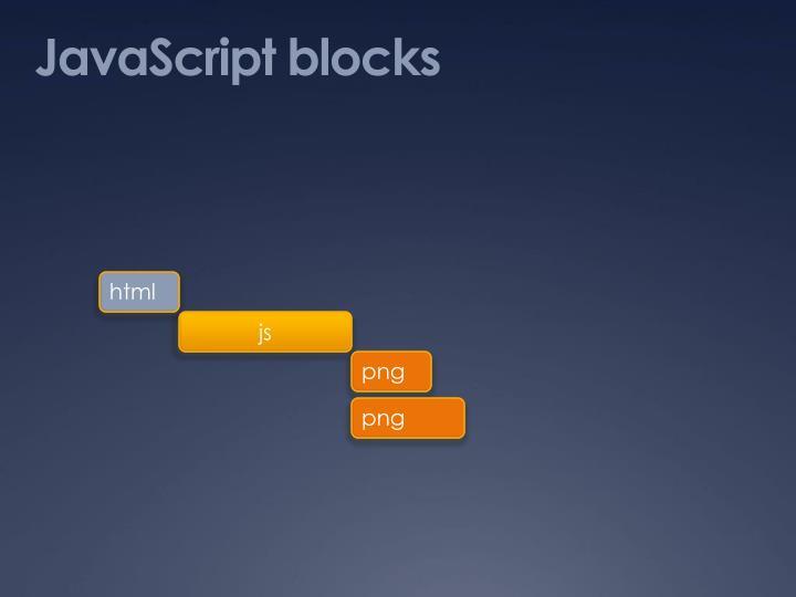 JavaScript blocks
