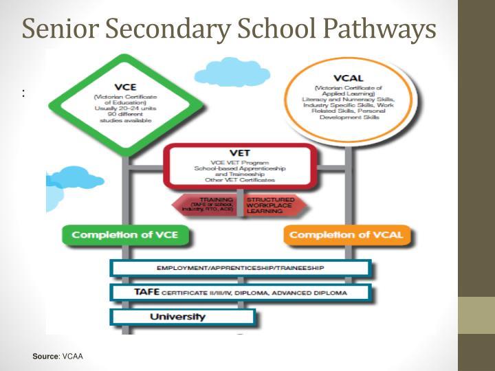 Senior Secondary School Pathways