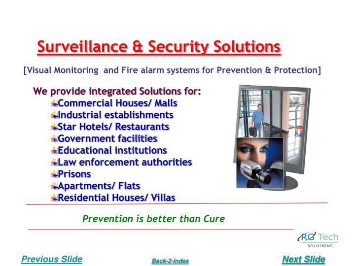 Surveillance & Security Solutions