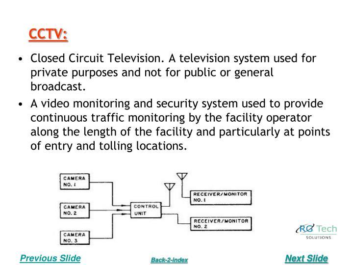 CCTV: